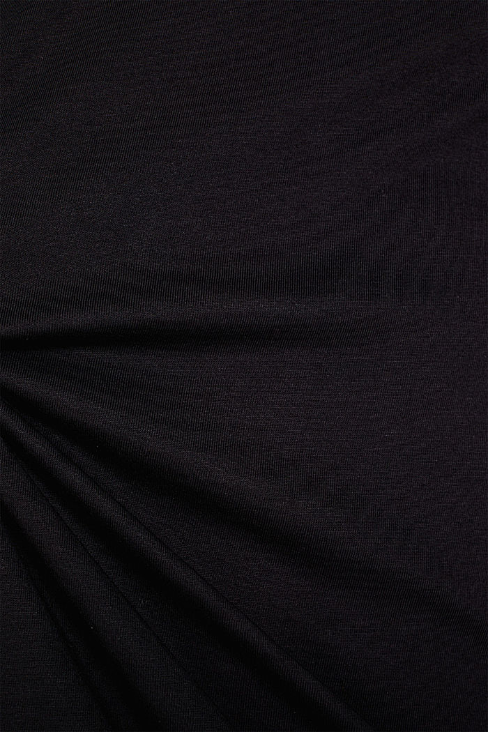 2er-Pack Jersey-Shirt aus 100% Baumwolle, BLACK, detail image number 4