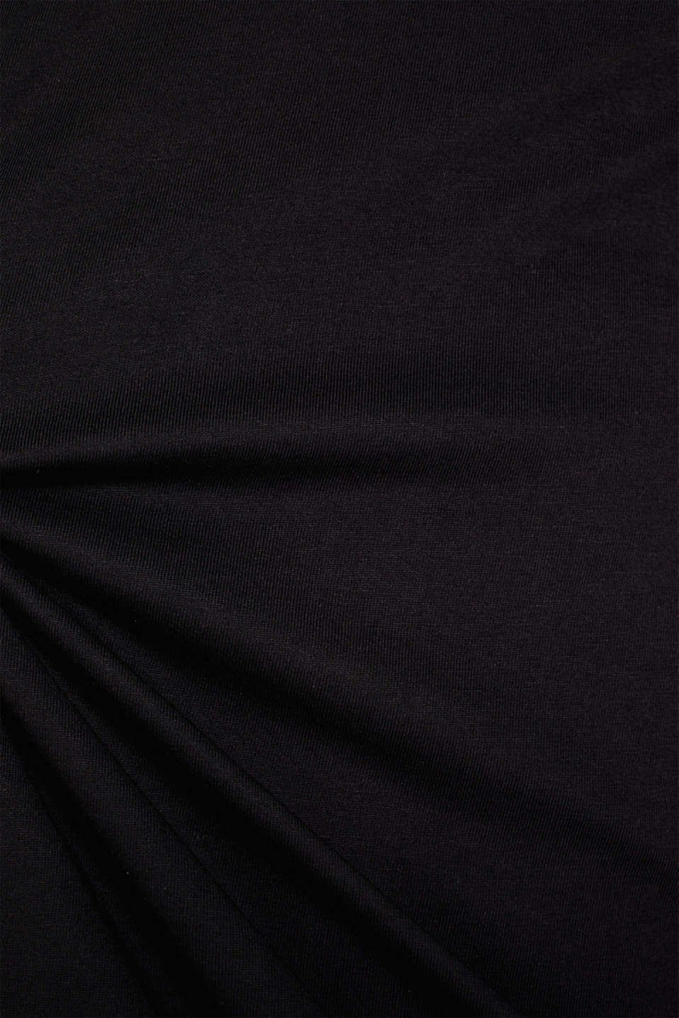 Double pack of jersey T-shirts made of 100% cotton, BLACK, detail image number 4