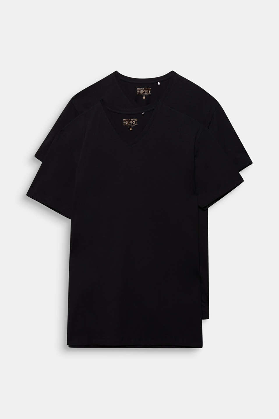 Jersey T-shirt in stretch cotton, BLACK, detail image number 7