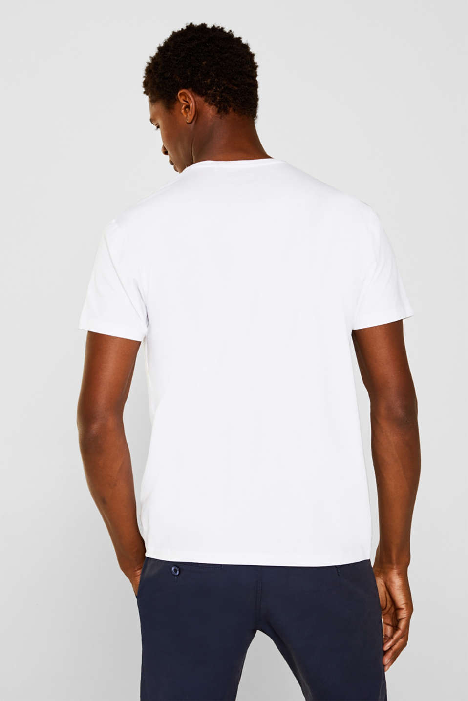 Double pack of jersey T-shirts, WHITE, detail image number 2