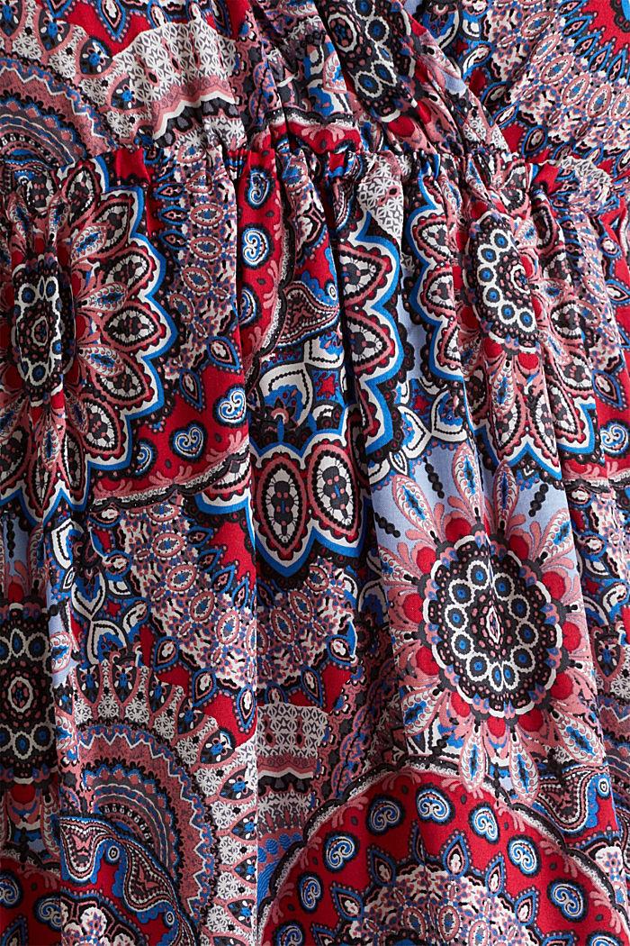 Freizeit-Kleid mit Troddeln, RED, detail image number 4