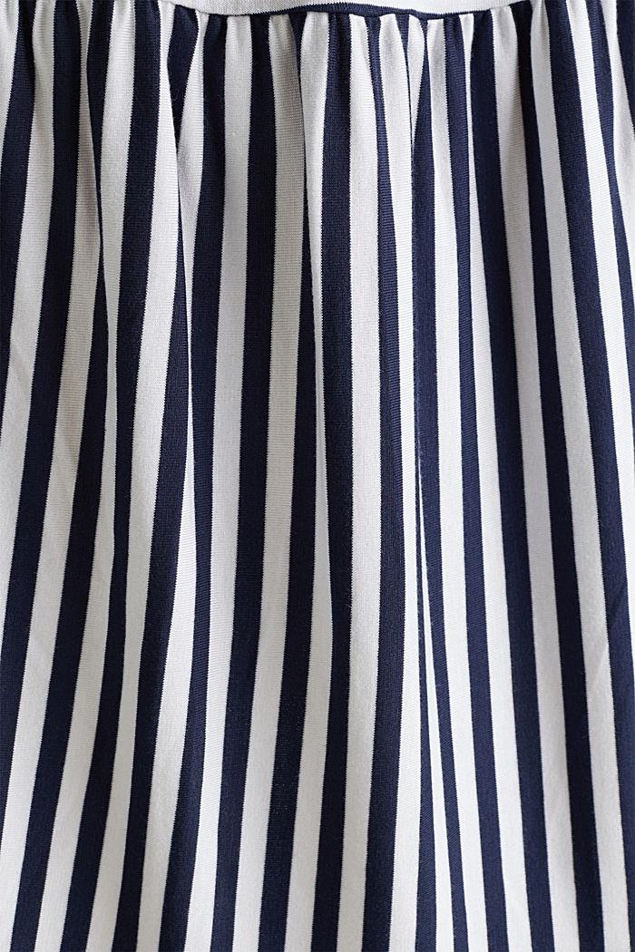 Falda de jersey elástico con cinturón de cordón, WHITE, detail image number 3