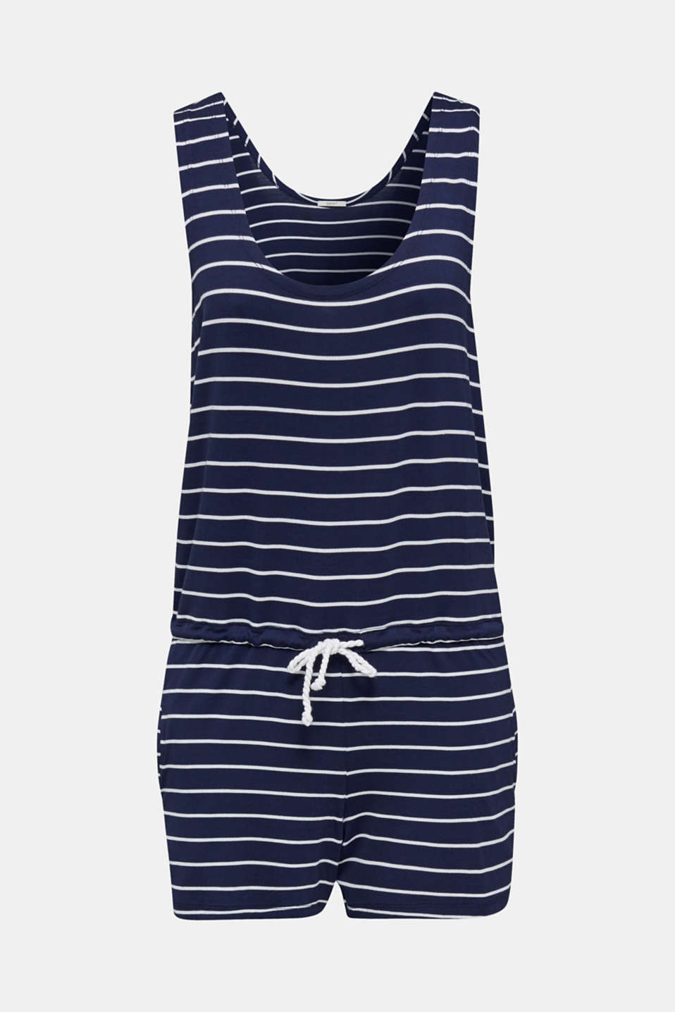 Stretch jersey jumpsuit, NAVY 2, detail image number 4