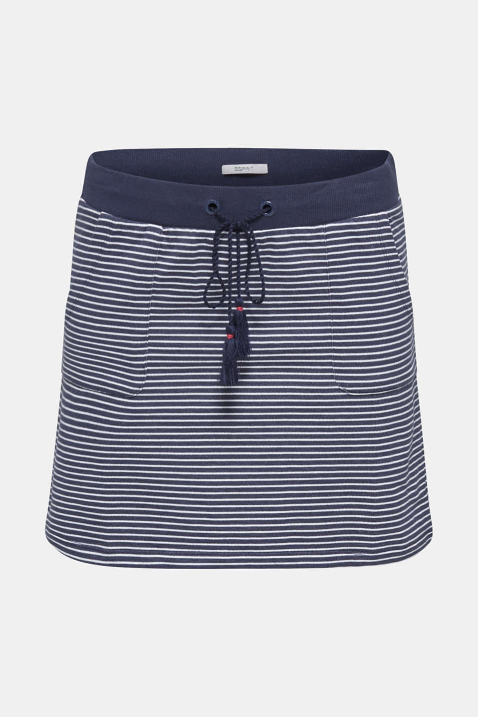Jersey skirt made of 100% cotton, NAVY 2, detail image number 2