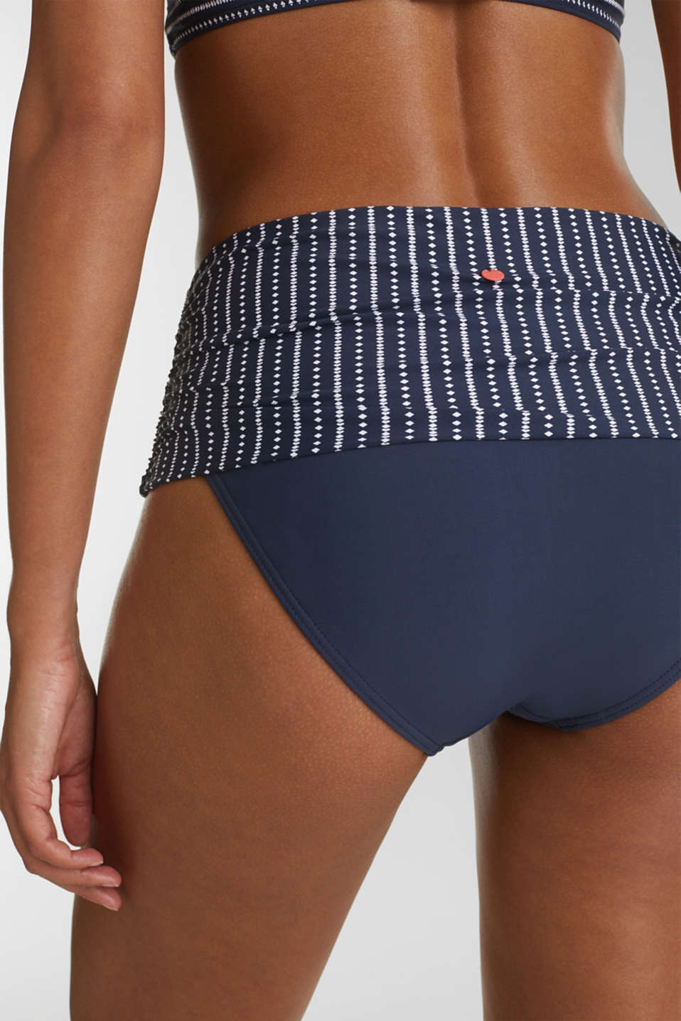 Shaping briefs with a waistband trim, NAVY 2, detail image number 3