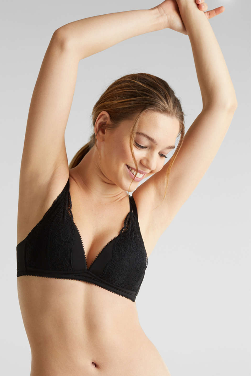 Esprit - Layered-effect bra - padded and non-wired