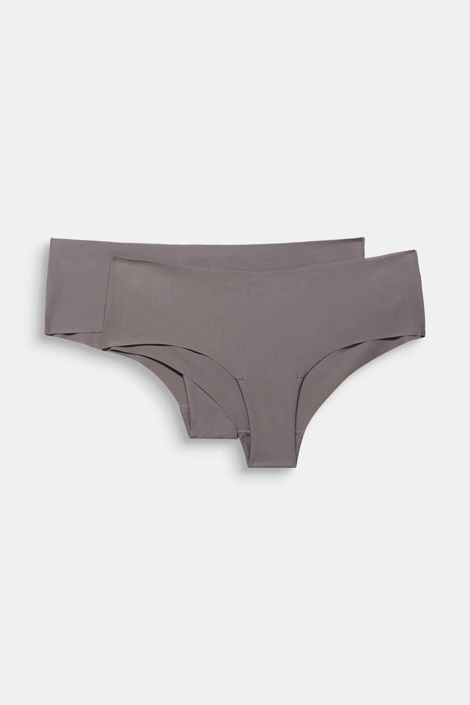 Double pack of seamless hipster shorts, TAUPE, detail image number 3