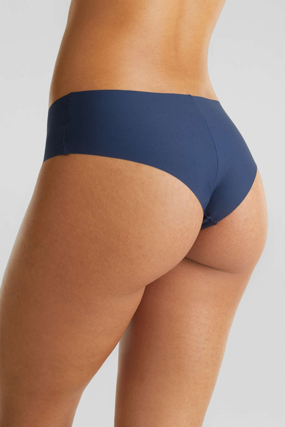 Double pack of seamless hipster shorts, NAVY 2, detail image number 4