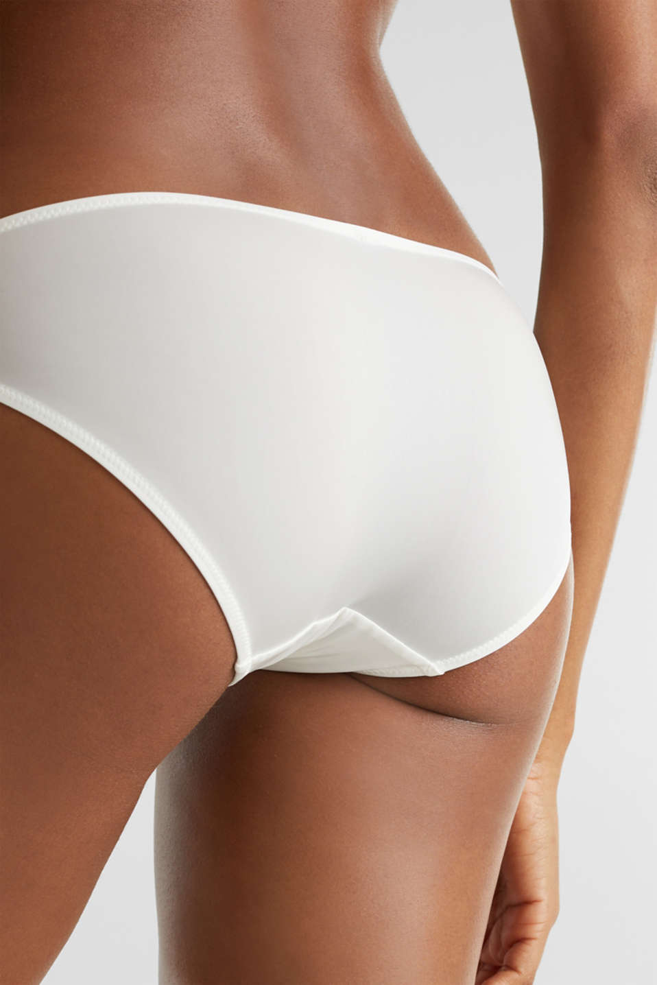 Microfibre hipster briefs, OFF WHITE, detail image number 2
