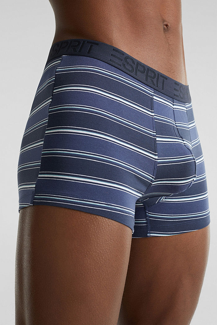 Im 3er-Pack: Shorts aus Baumwoll-Stretch, NAVY, detail image number 2