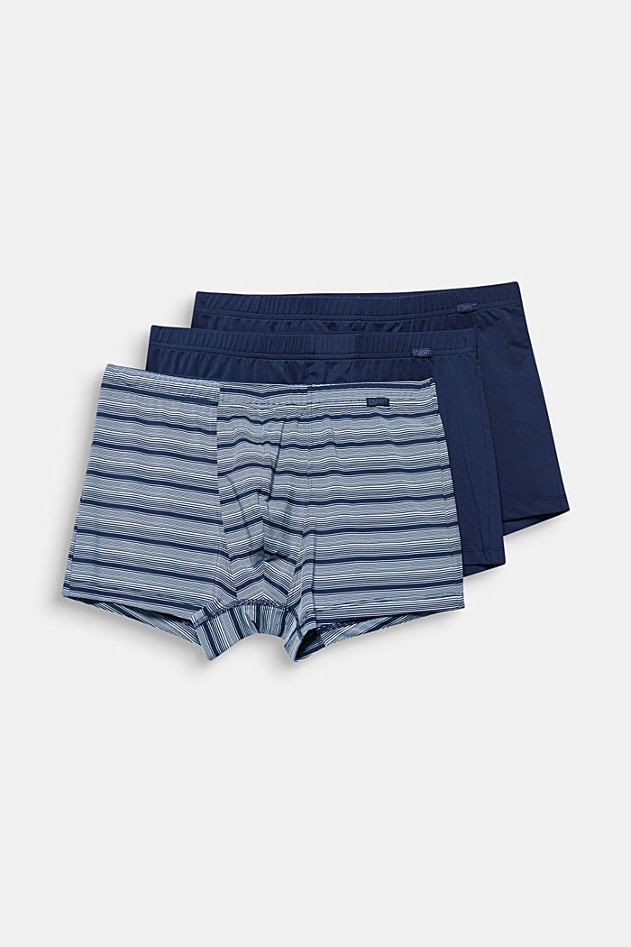 Im 3er-Pack: Microfaser-Shorts mit Stretch, NAVY, detail image number 3