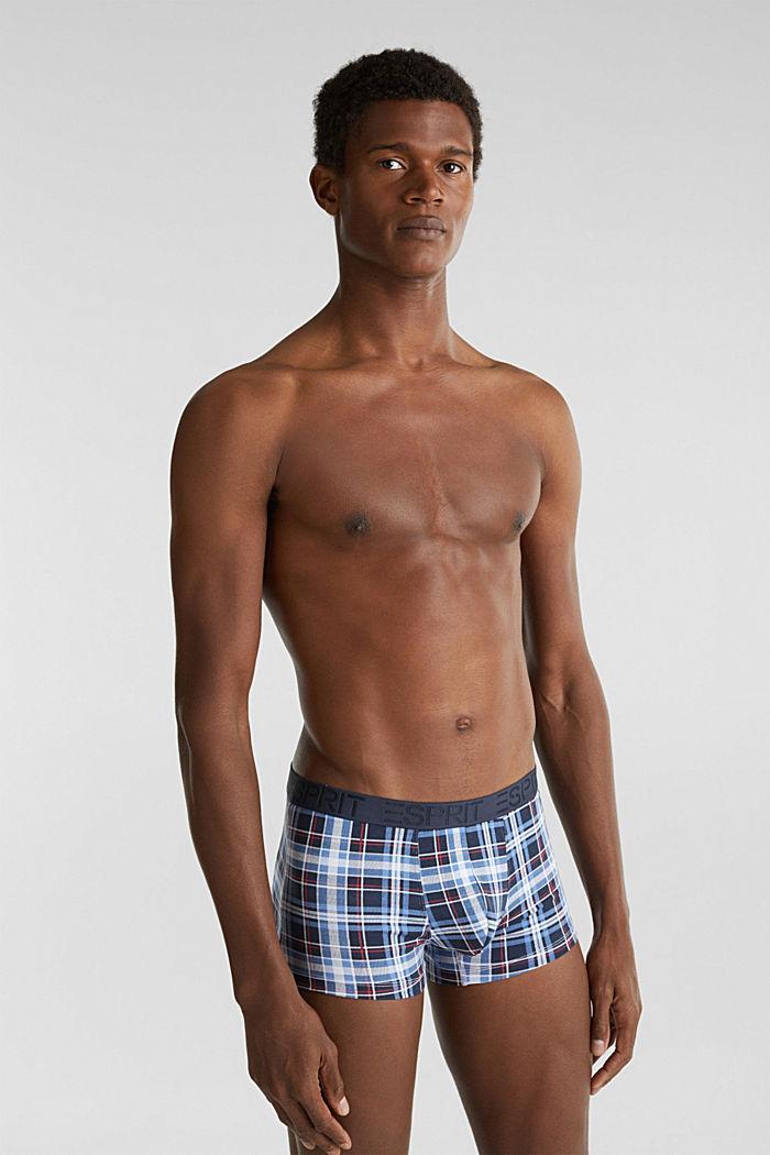 Set van 3: hipster-shorts met logoband, NAVY, detail image number 0