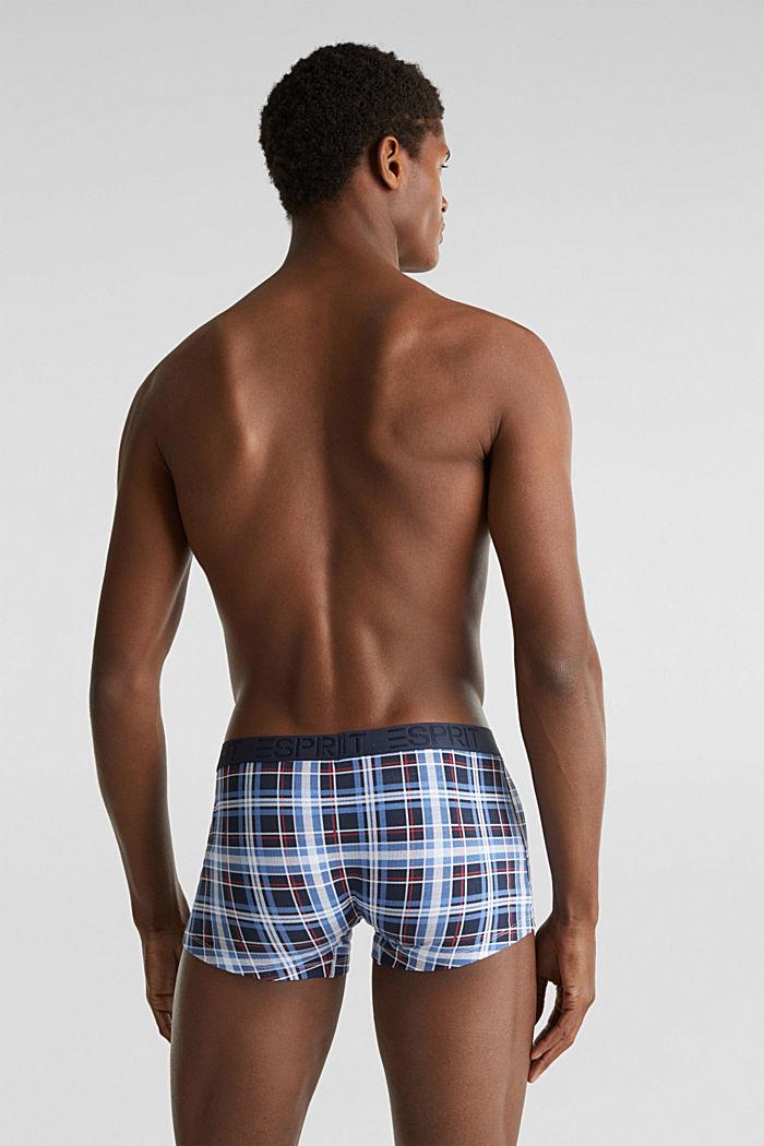 Set van 3: hipster-shorts met logoband, NAVY, detail image number 1