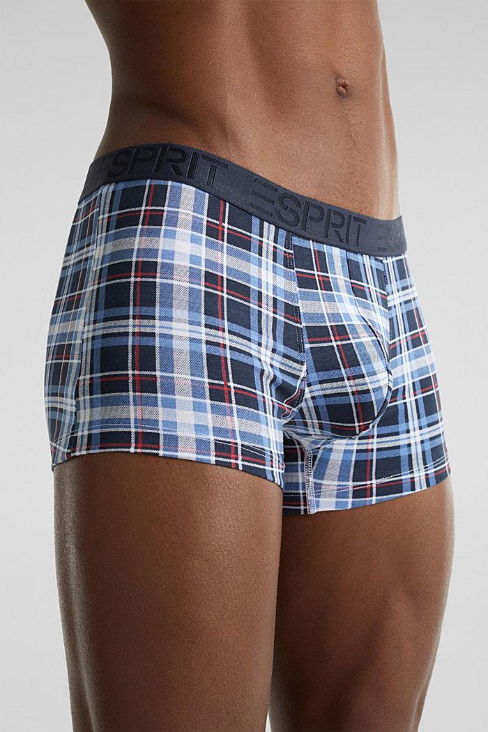 Set van 3: hipster-shorts met logoband, NAVY, detail image number 2