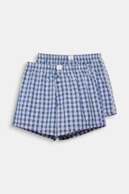 In a pack of two: boxer shorts in 100% cotton, NAVY 2, detail