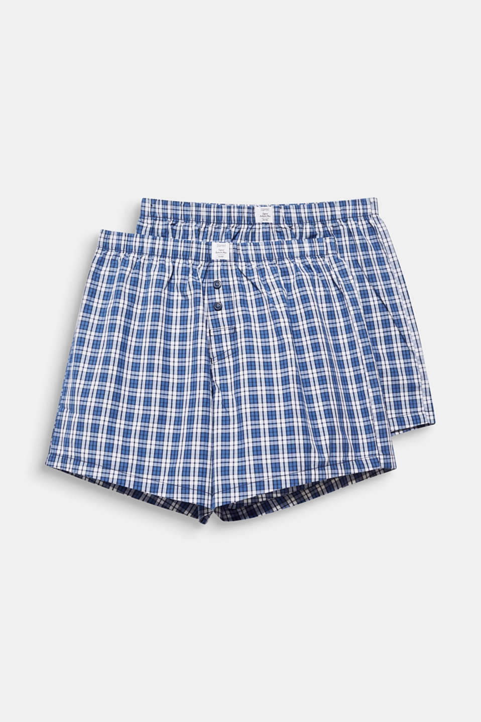 In a pack of two: boxer shorts in 100% cotton, NAVY 2, detail image number 3