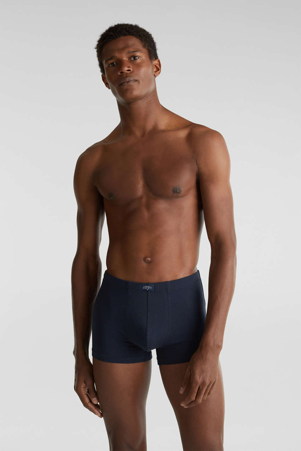 Esprit - Stretch cotton shorts in a six-pack