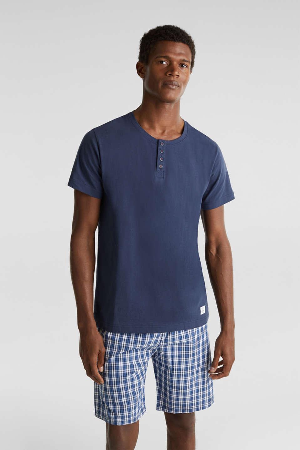 Pyjamas made of 100% cotton, NAVY 2, detail image number 0