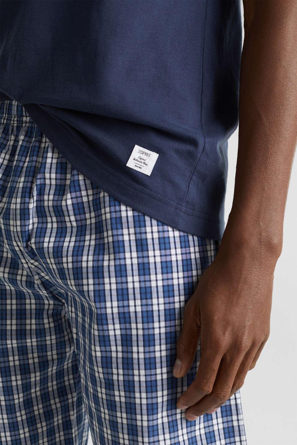 Pyjamas made of 100% cotton, NAVY 2, detail image number 2