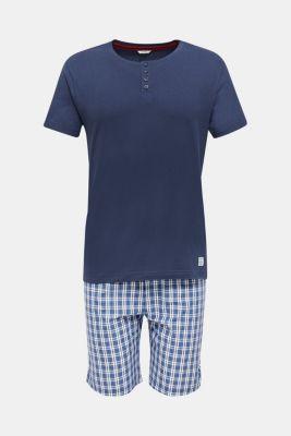 Pyjamas made of 100% cotton, NAVY 2, detail