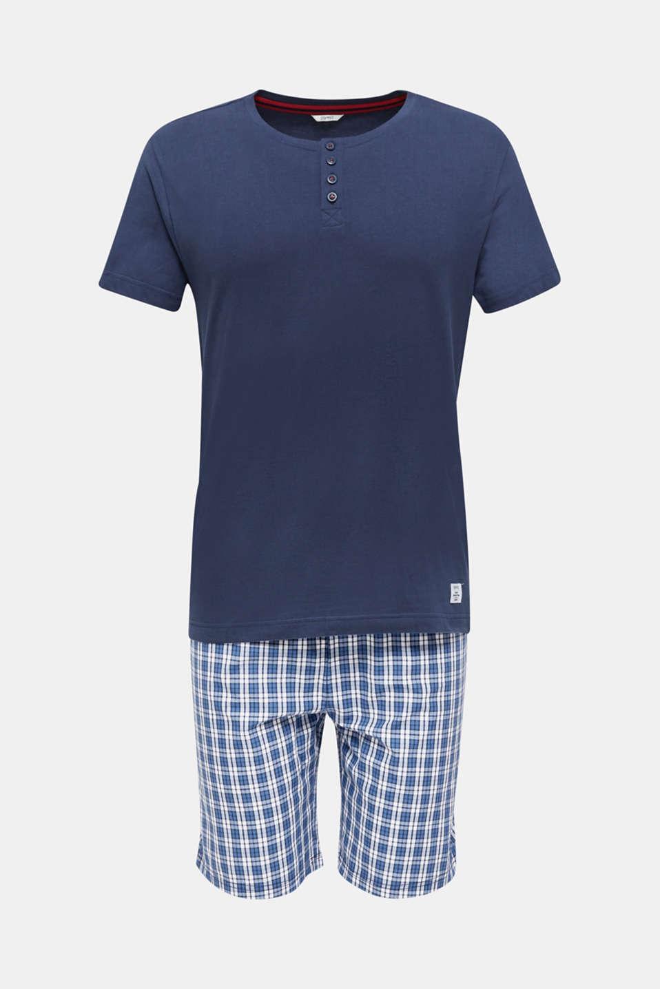Pyjamas made of 100% cotton, NAVY 2, detail image number 3