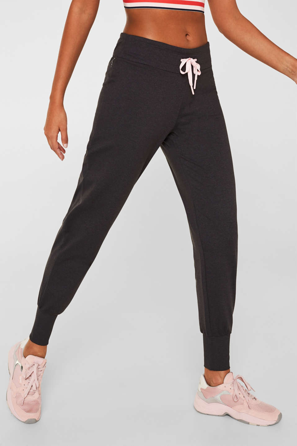 Esprit - Active-Pants aus Jersey-Stretch, E-DRY