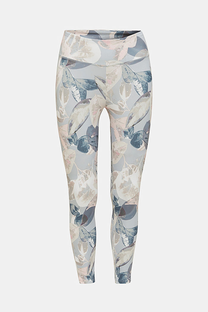 Cropped active leggings with print, E-DRY, LIGHT PINK, detail image number 6