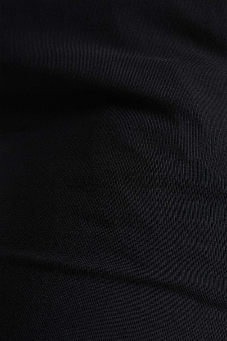 Pants knitted, BLACK, detail image number 3
