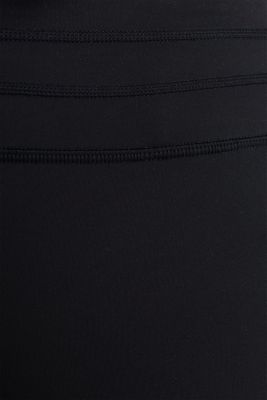 NEW YEAR. NEW ME. Compression leggings, E-DRY, BLACK, detail