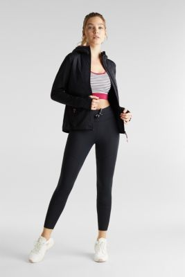 Quilted jersey jacket with 3M™ Thinsulate™ padding, BLACK, detail
