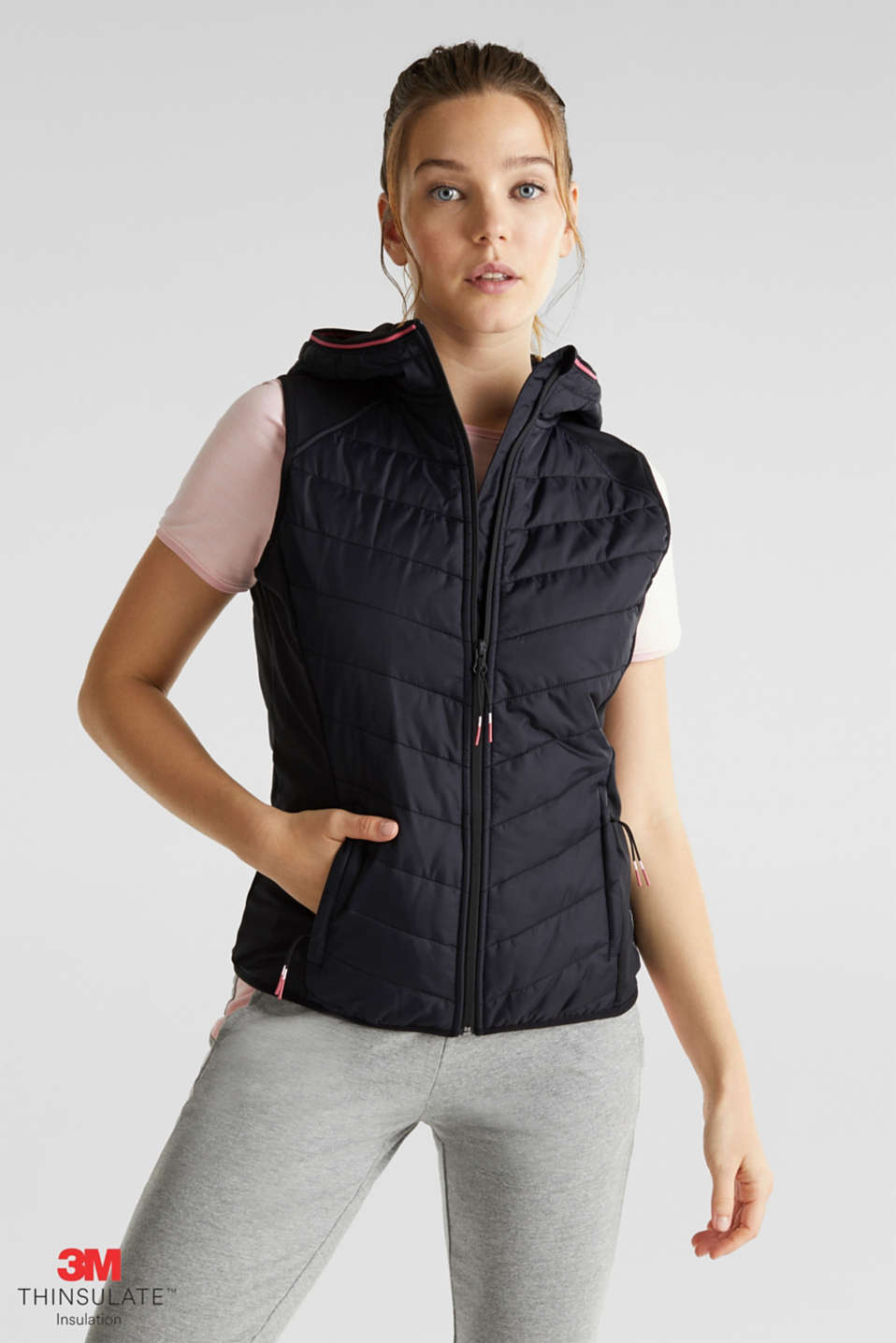 Esprit - Bodywarmer met 3M™ Thinsulate™-vulling