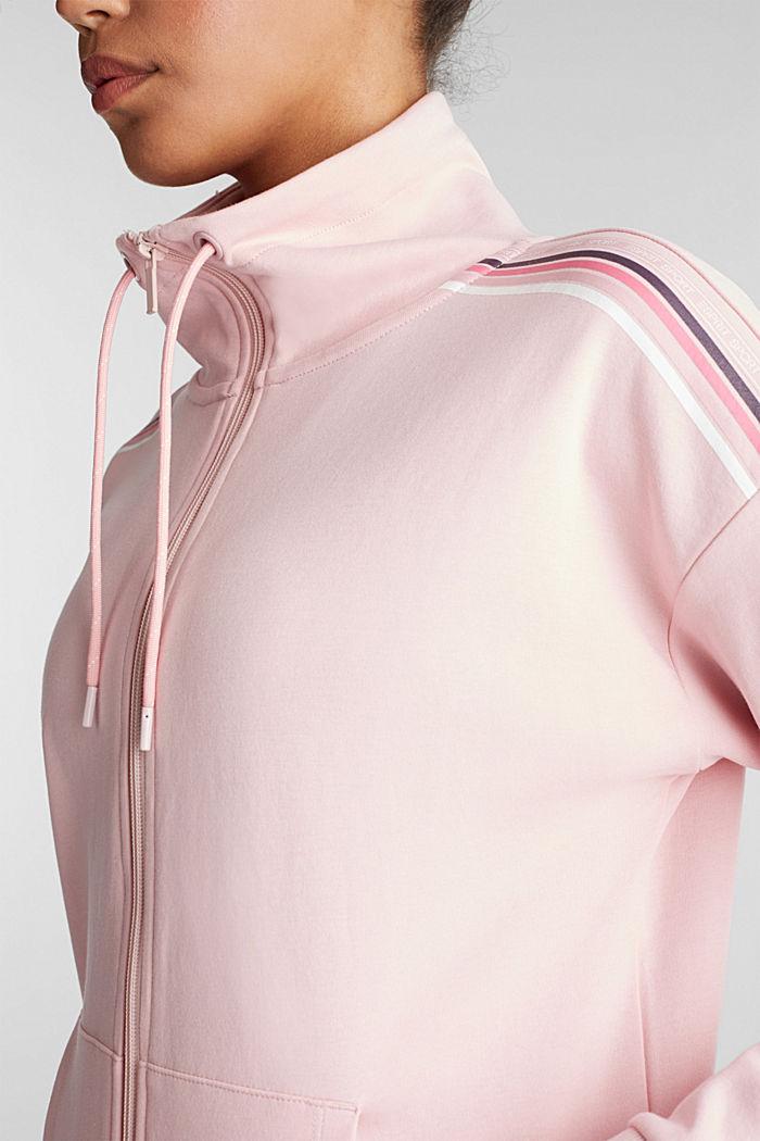 Vest met col, LIGHT PINK, detail image number 2