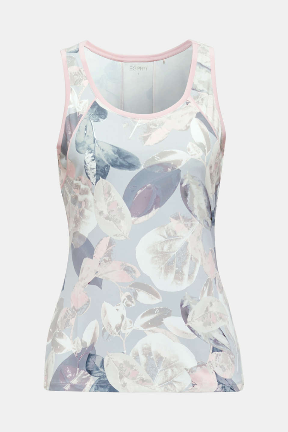Stretch top with a print, E-DRY, LIGHT PINK 3, detail image number 6