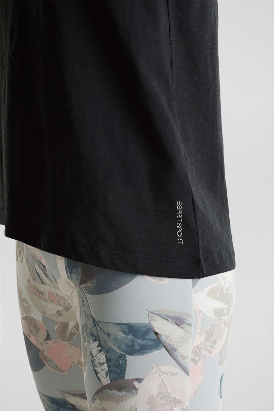 Statement T-shirt made of 100% organic cotton, BLACK, detail image number 4