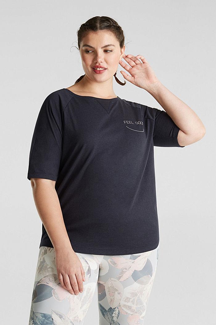 AÑO NUEVO. VIDA NUEVA. Camiseta de ranglán, NAVY, detail image number 0