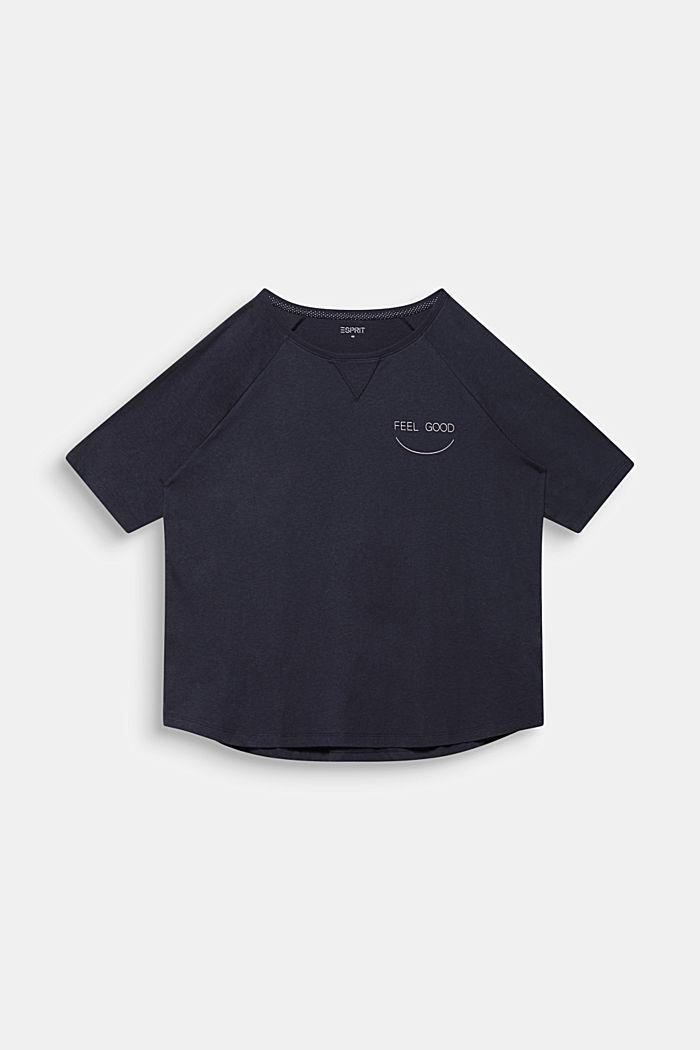 AÑO NUEVO. VIDA NUEVA. Camiseta de ranglán, NAVY, detail image number 7
