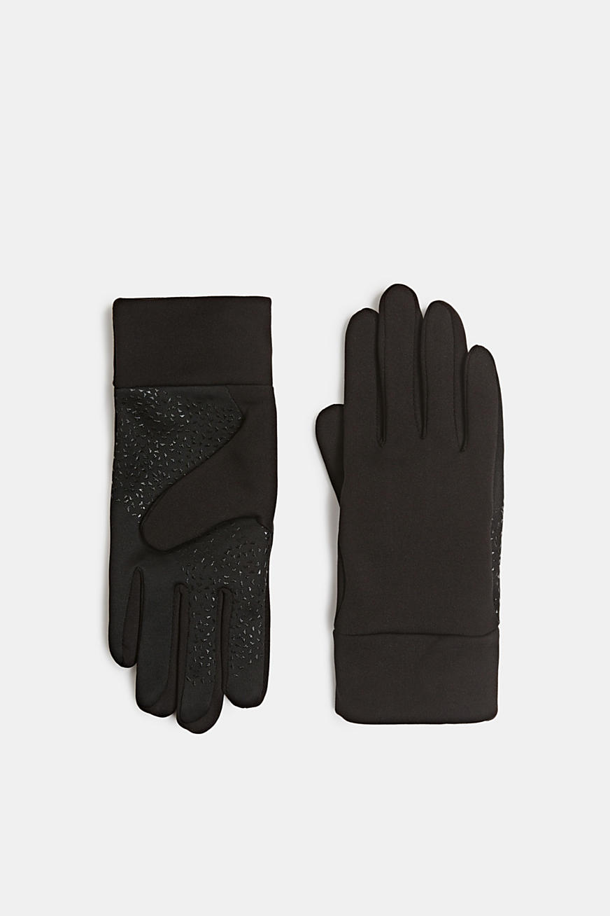 Running gloves with a touchscreen function