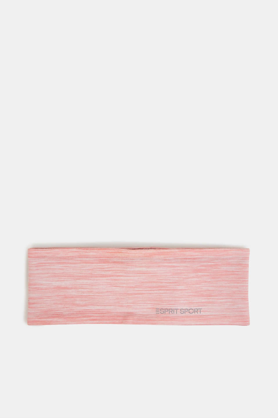 Reversible stretch jersey headband, LIGHT PINK 2, detail image number 0