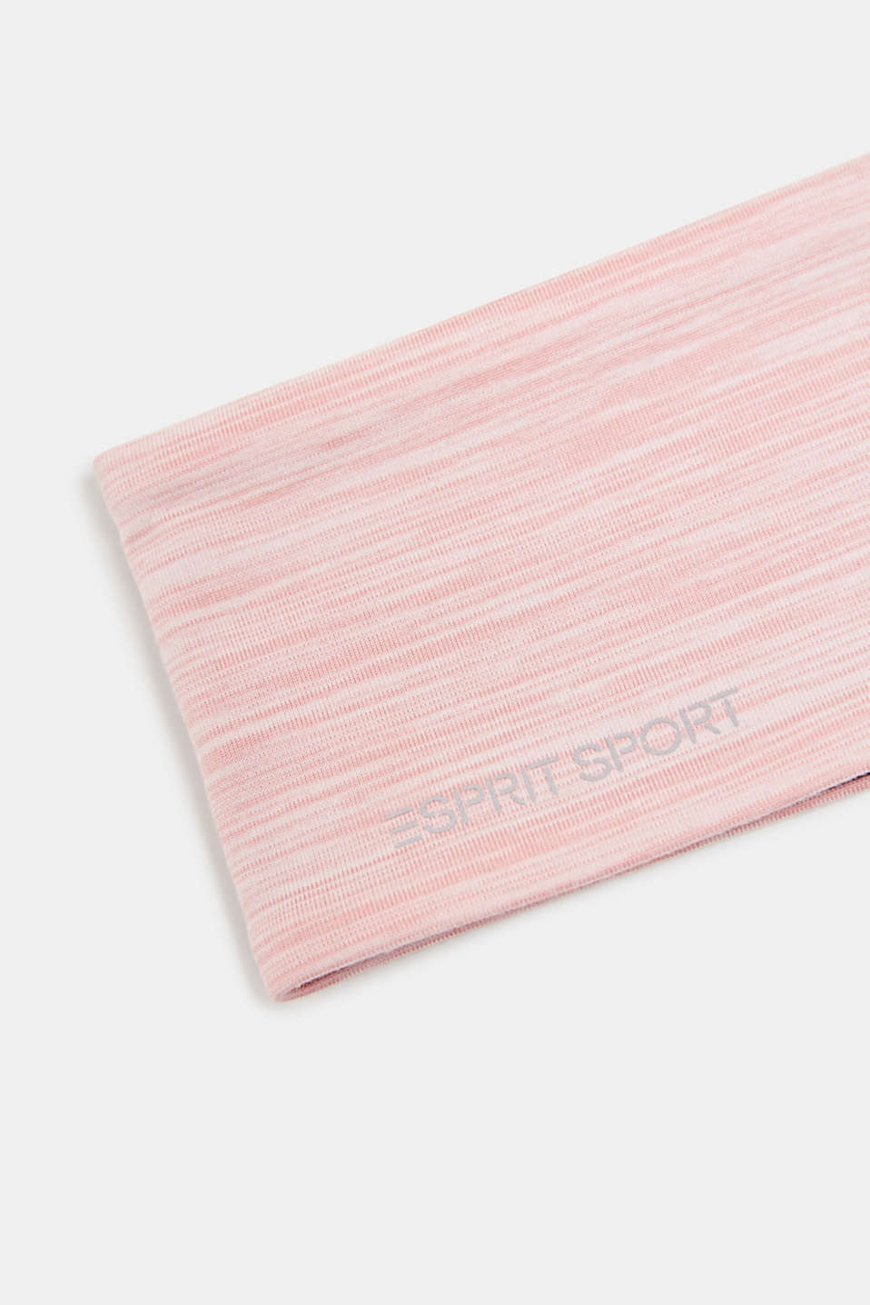 Reversible stretch jersey headband, LIGHT PINK 2, detail image number 1