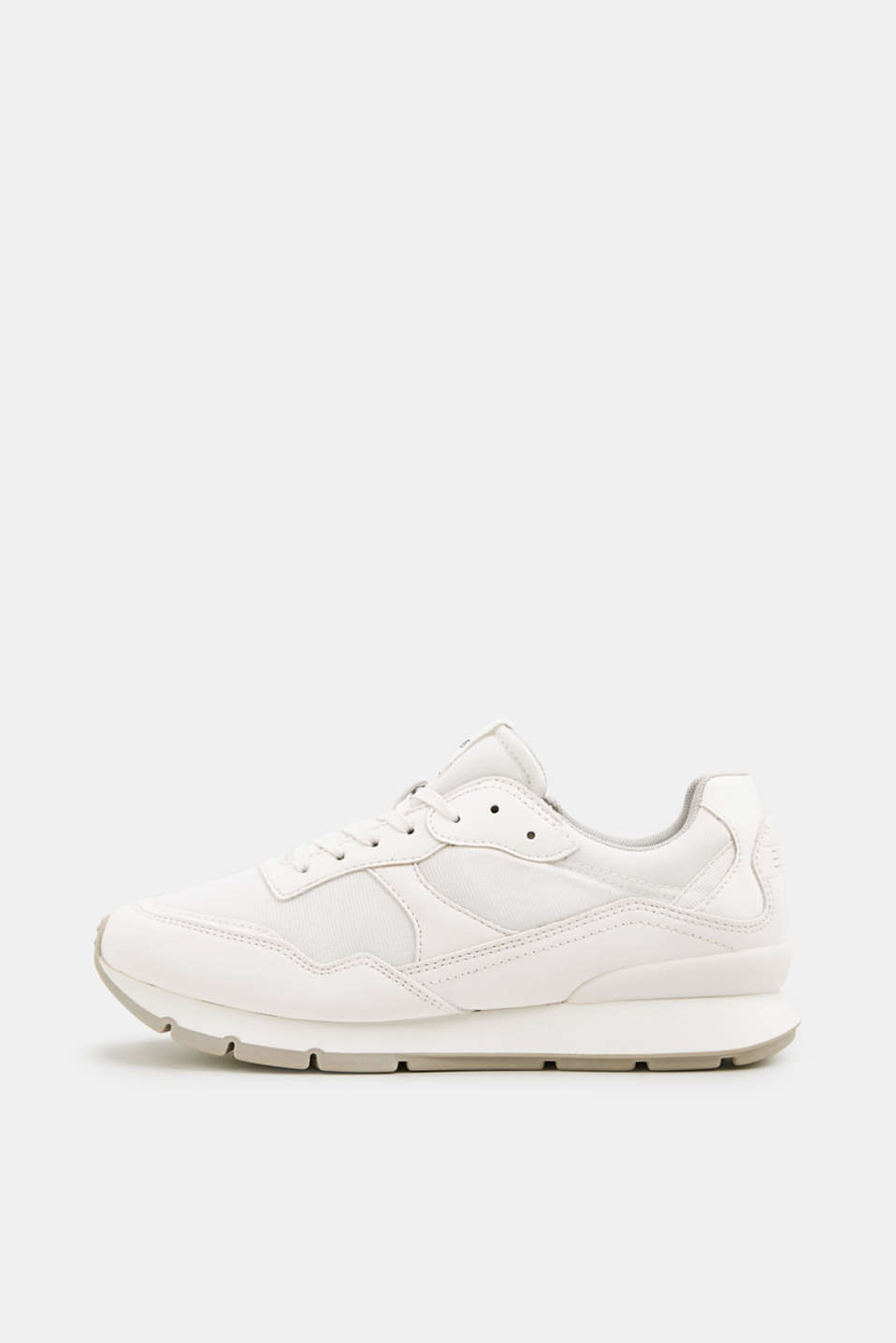 Esprit - Retro material mix trainers