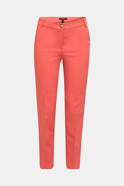 SPRING TWILL Mix + Match stretch trousers