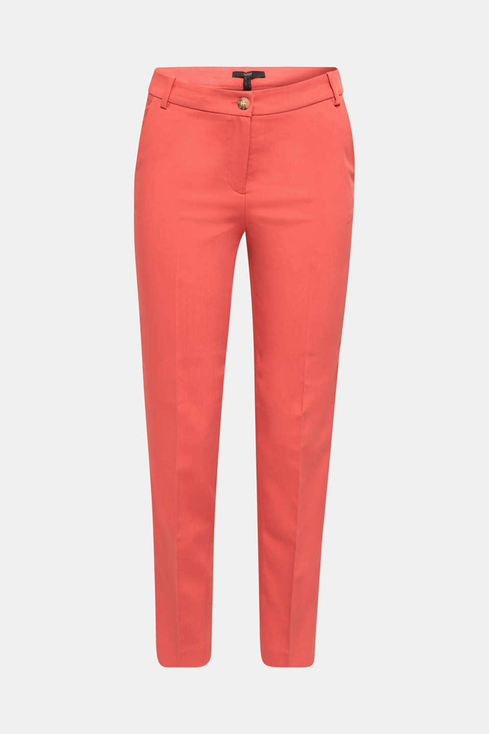 SPRING TWILL Mix + Match stretch trousers, TERRACOTTA, detail image number 6