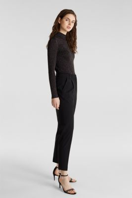 PURE BUSINESS mix + match trousers, BLACK, detail