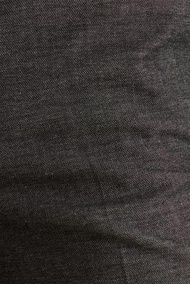 SHINY TEXTURE mix + match stretch trousers, DARK GREY 5, detail
