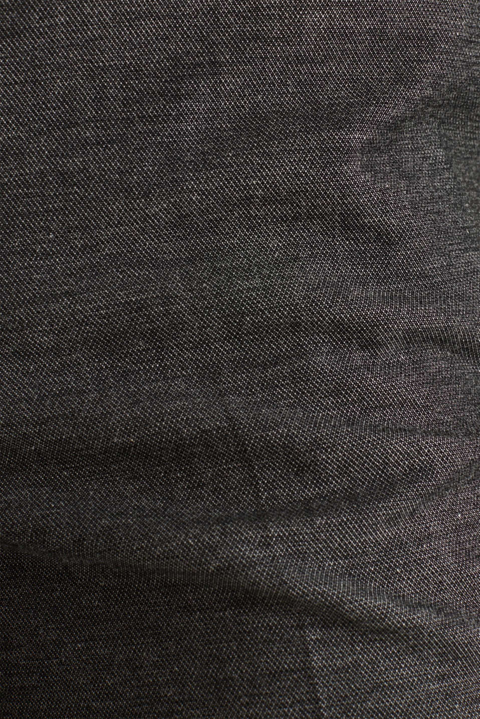 SHINY TEXTURE mix + match stretch trousers, DARK GREY 5, detail image number 4