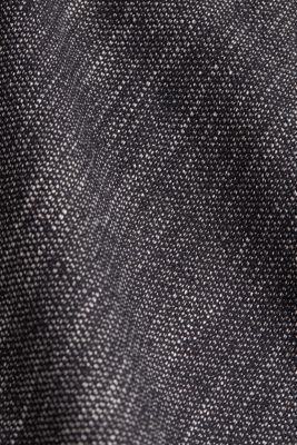 A-line skirt in a salt and pepper look, BLACK 2, detail