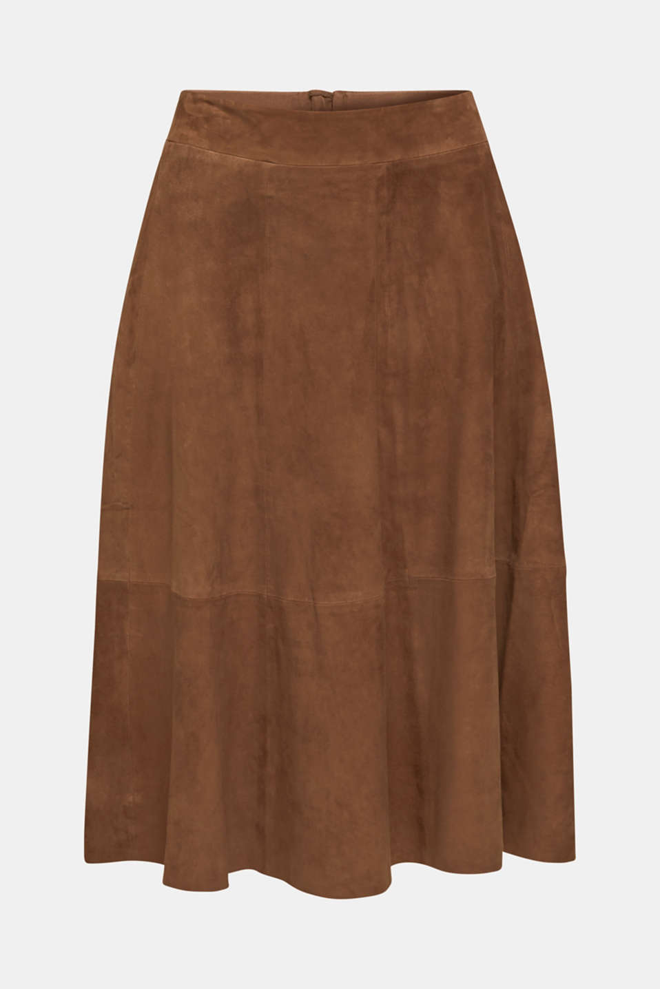 Skirts leather, TAUPE, detail image number 7