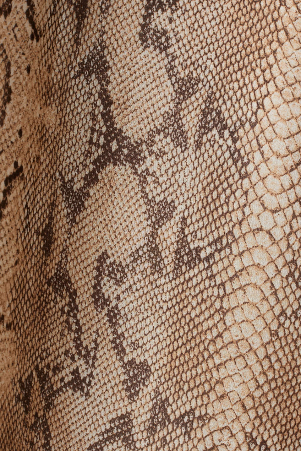 Chiffon skirt with snake print, LIGHT TAUPE 4, detail image number 4