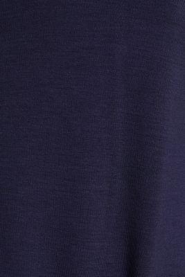 Stretch jersey shirt dress, NAVY, detail