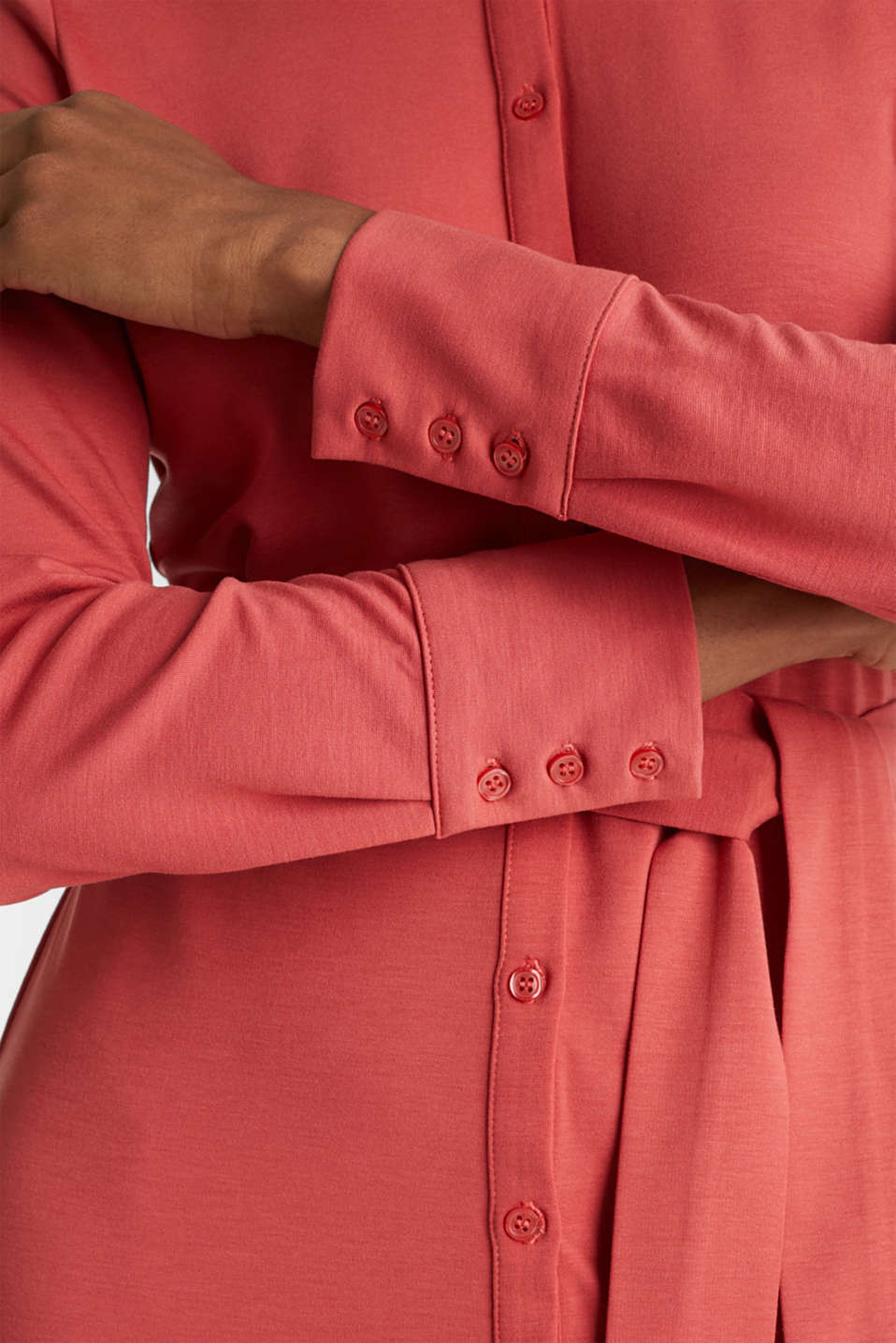 Dresses knitted, TERRACOTTA, detail image number 3